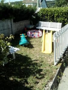 Children's play area at La Crielloise