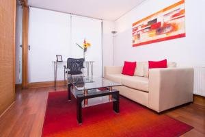 A seating area at Austral Suites