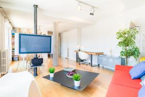 A television and/or entertainment center at PYR Select Madrid Rio VI
