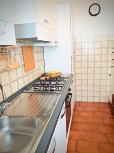 A kitchen or kitchenette at Roggiana Apartment