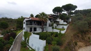 Άποψη από ψηλά του Villa Frideriki