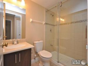 A bathroom at Odyssey