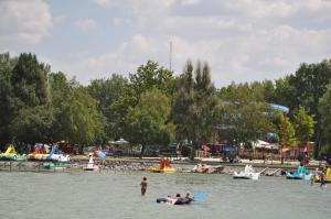 Aqua Camp Mobilházak - Aranypart Kemping Siófok