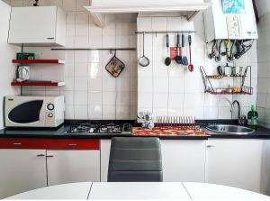 A kitchen or kitchenette at Fabulous Venice