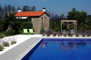 The swimming pool at or near Orange Olives - Quinta Chao de Galizes