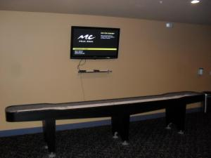 A television and/or entertainment center at Diamond Beach 316