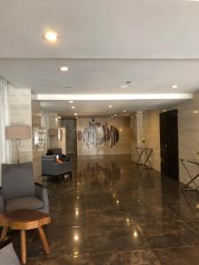 The lobby or reception area at Grand Residences Cebu