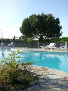 The swimming pool at or near La Ferme Couderc