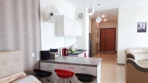 Küche/Küchenzeile in der Unterkunft Octagon 21 Guest House