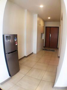 Dapur atau dapur kecil di Octagon 16 Guest House