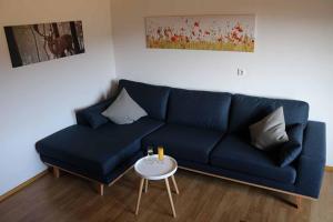 Ein Sitzbereich in der Unterkunft Gästehaus Penzkofer F****