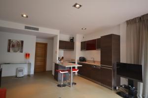 Küche/Küchenzeile in der Unterkunft Residence Cote Plage Pinarello