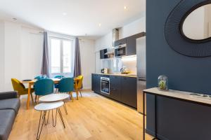 Cuisine ou kitchenette dans l'établissement CMG Saint Germain / Jardin du Luxembourg II
