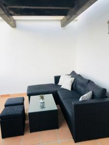 A seating area at Arenque Apartment