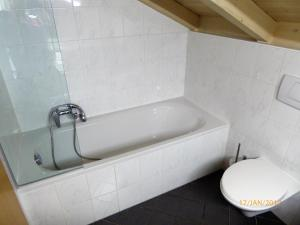 A bathroom at Ranner's Ferienwohnung
