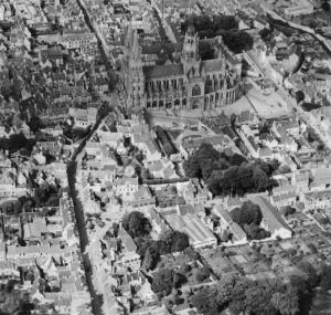 A bird's-eye view of DDay Holiday Home near Bayeux