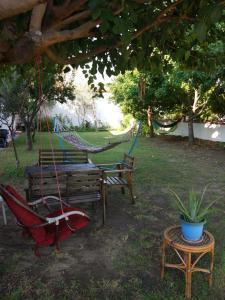 A garden outside Noda Apart