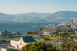 Vedere de sus a Büyük Konak İzmir