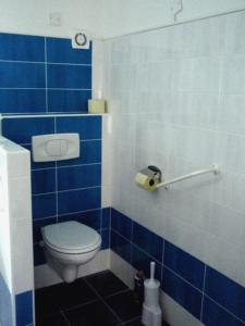 Koupelna v ubytování Apartman75