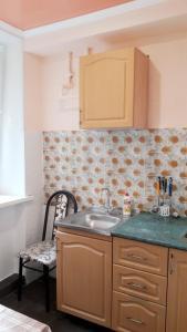Кухня или мини-кухня в Квартира в центре Пятигорска