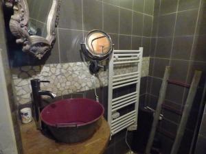 Salle de bains dans l'établissement gite le marguerite