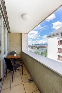 A balcony or terrace at BPM-Riverhood Studio