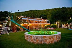 Ο χώρος παιχνιδιού για παιδιά στο Villa Nefeli