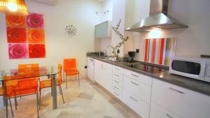 A kitchen or kitchenette at Living-Sevilla Apartments San Lorenzo