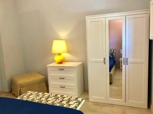 A bed or beds in a room at Casa Padronale