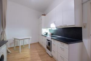 A kitchen or kitchenette at Vienna Living Apartments - Stadtpark