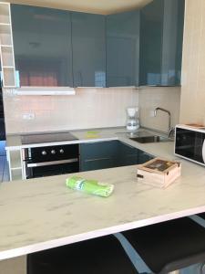 Een keuken of kitchenette bij Apartamento Playa Paraiso