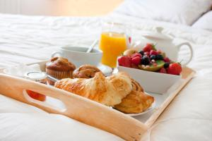 Breakfast options available to guests at Seven Wishes Boutique Residence