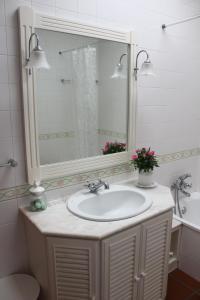 A bathroom at Quinta do Sardão