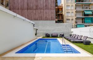 The swimming pool at or near Casa Can Beppa