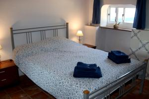 A bed or beds in a room at Monte da contenda