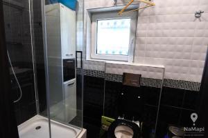 A bathroom at Apartman Petkovic