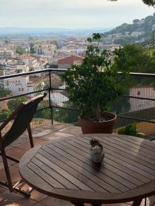 A balcony or terrace at Apartamento Islas Medas