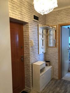 A bathroom at Jovanna