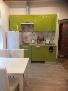 A kitchen or kitchenette at Odra 10/2