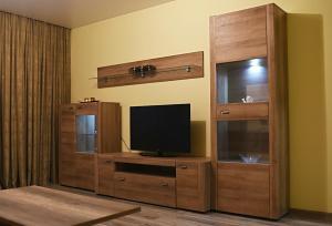 Televizorius ir (arba) pramogų centras apgyvendinimo įstaigoje Apartments Victoria
