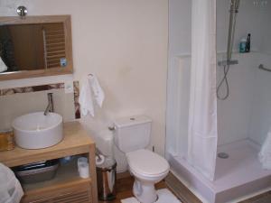 Salle de bains dans l'établissement Belle Vue