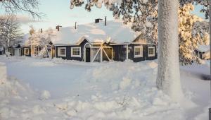 Aamurusko-Mainiot Majat през зимата
