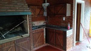 A kitchen or kitchenette at Espacio amplio Relax