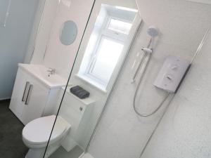 A bathroom at It'll Do, Truro