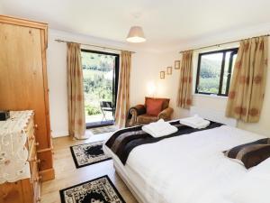 Posteľ alebo postele v izbe v ubytovaní Bryn Coed Bach, Oswestry