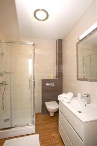 Kupaonica u objektu Apartments Maslina II