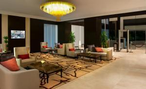 The lobby or reception area at Ascott Rafal Olaya Riyadh