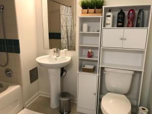 A bathroom at Arizona