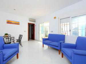 A seating area at Holiday Home Bungalow Los Corales