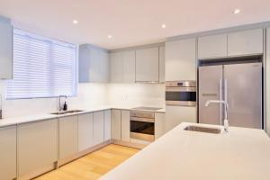 A kitchen or kitchenette at The Solis